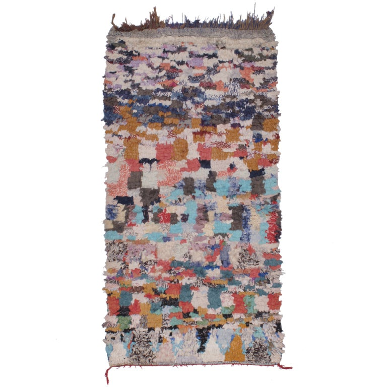 """Moroccan Boucherouite Rug For Sale At 1stdibs: """"Boucherouite"""" Rug At 1stdibs"""