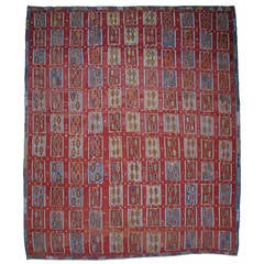 Very Large and Exceptional Antique Sivas Kilim