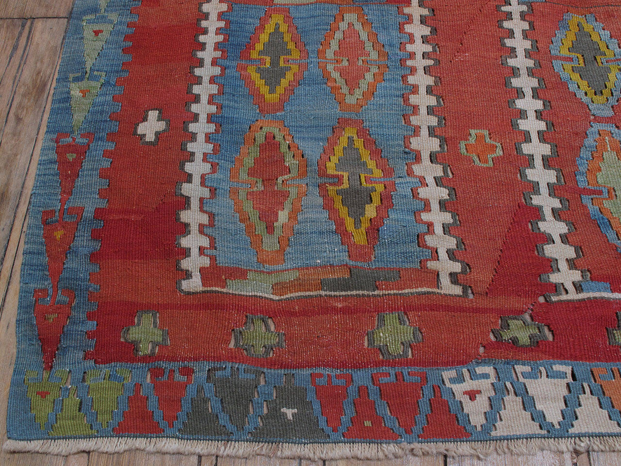 Very Large and Exceptional Antique Sivas Kilim 8