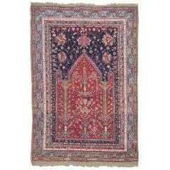 Antique Oushak Prayer Rug