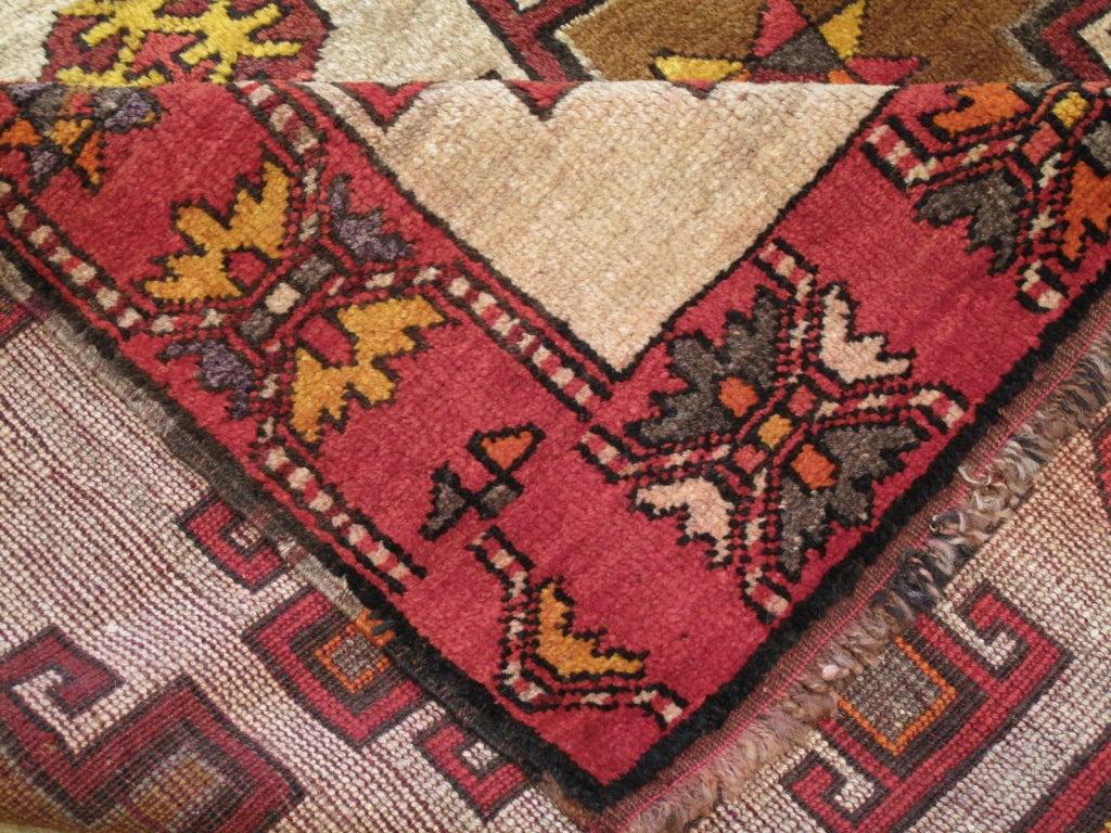 Mid-20th Century Kurdish Long Rug For Sale