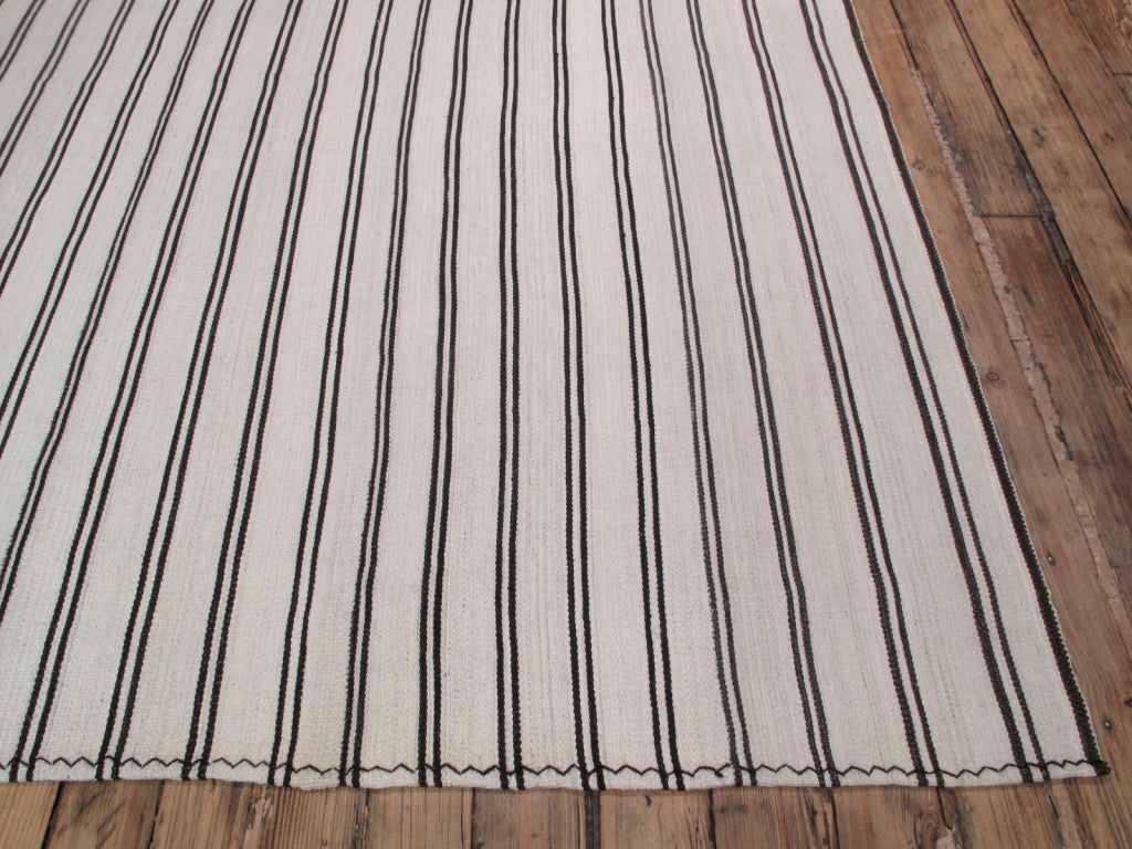 Large Striped Kilim image 4