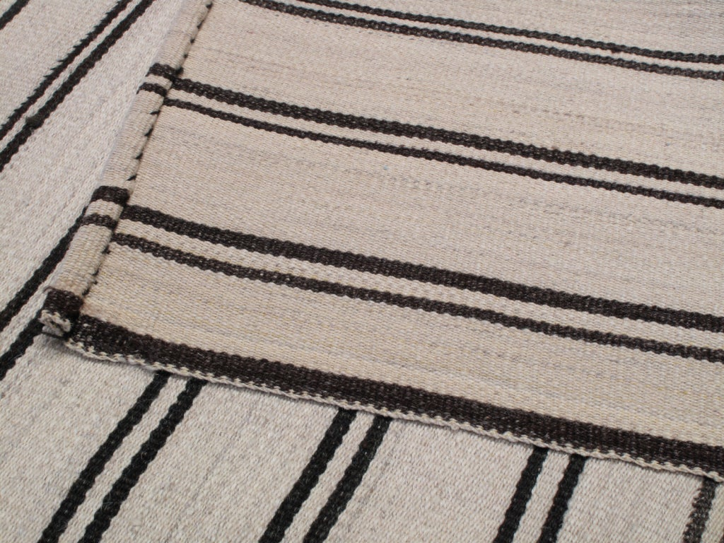 Large Striped Kilim image 9