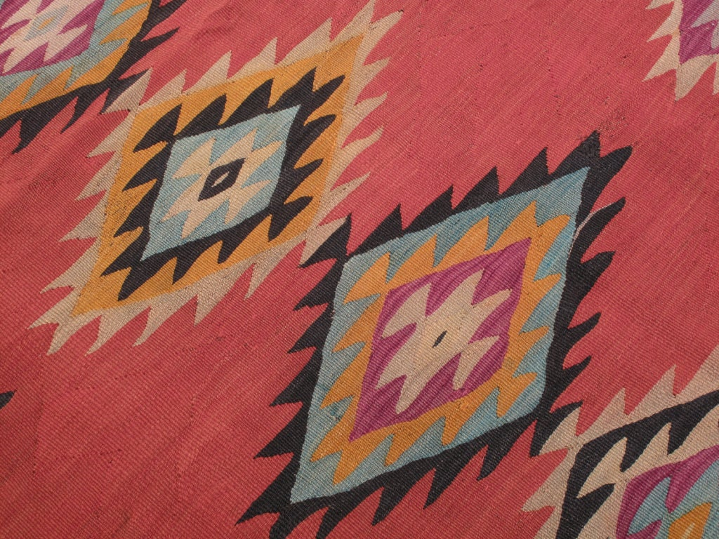 Balkan Kilim In Good Condition For Sale In New York, NY