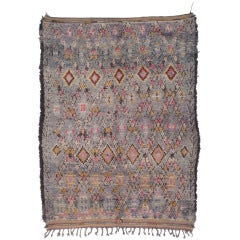 Colorful Moroccan Berber Rug