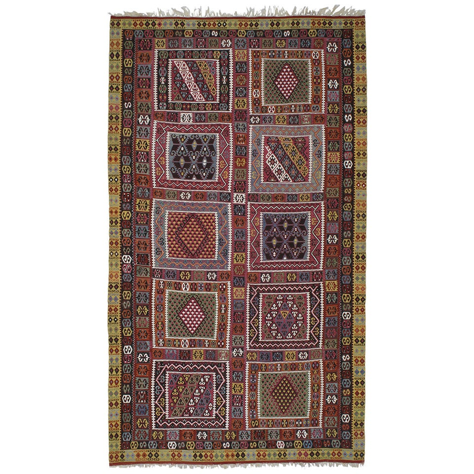 Superb Antique Bayburt Kilim For Sale At 1stdibs