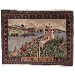 Postcard Rug from Istanbul