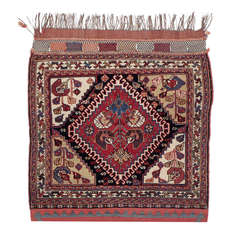 Exceptional Antique Qashqai Bag Rug
