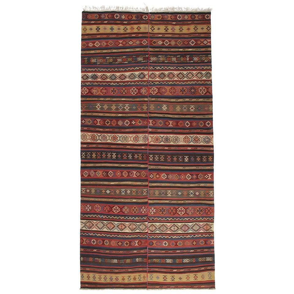 Antique Karabagh Kilim Rug