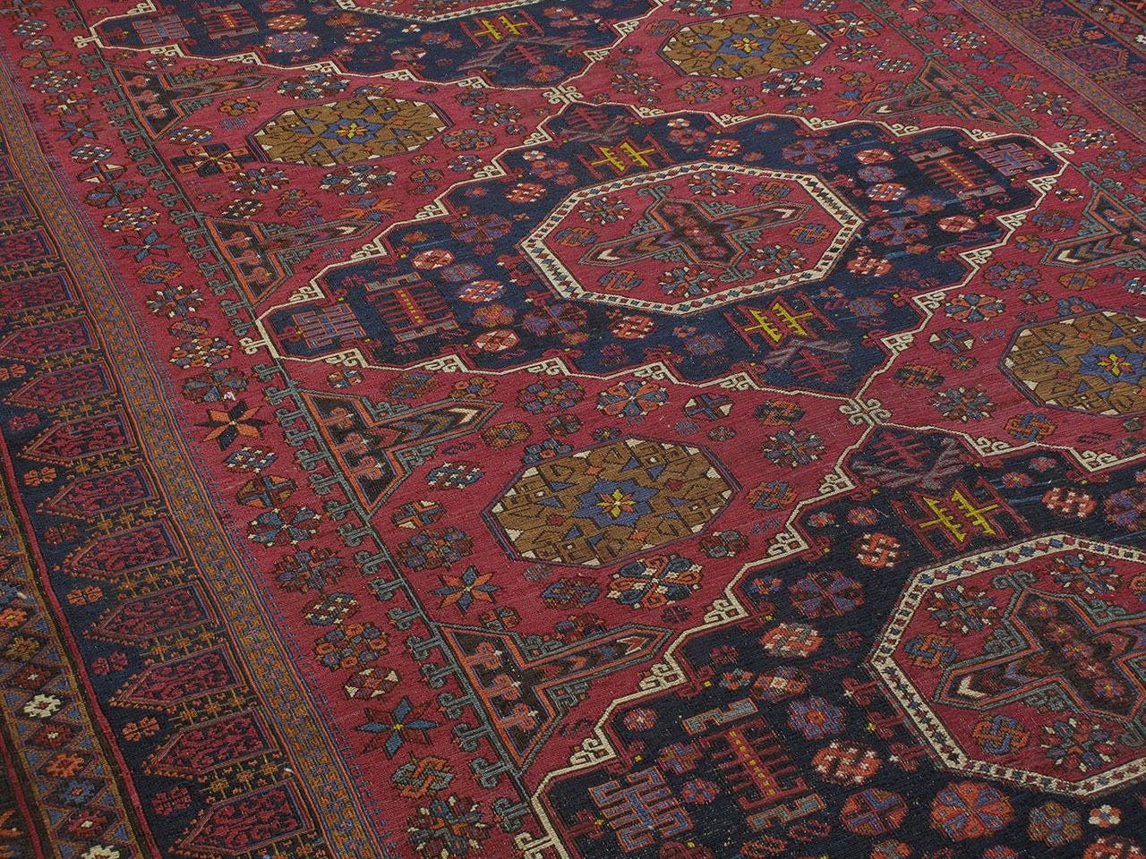 Azerbaijani Sumak Carpet For Sale