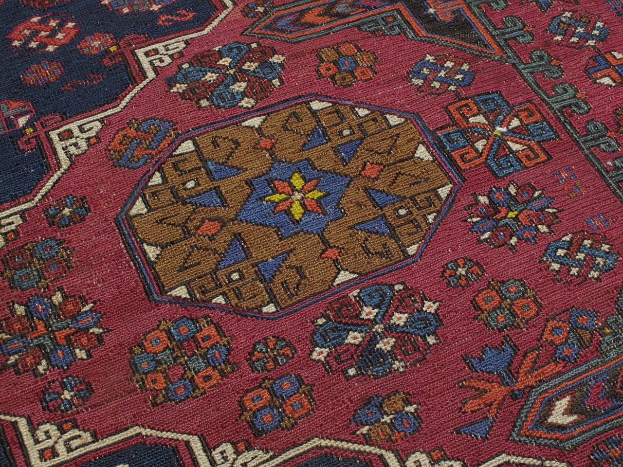 20th Century Sumak Carpet For Sale