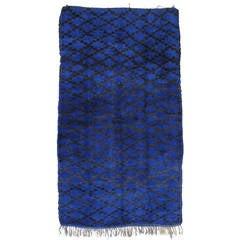 Blue Beni Mguild Rug