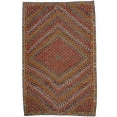 Antique Turkish Sharkisla Kilim