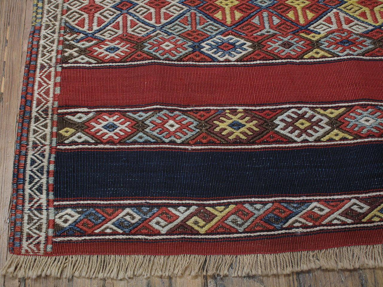 Antique Malatya Kilim Rug For Sale 1