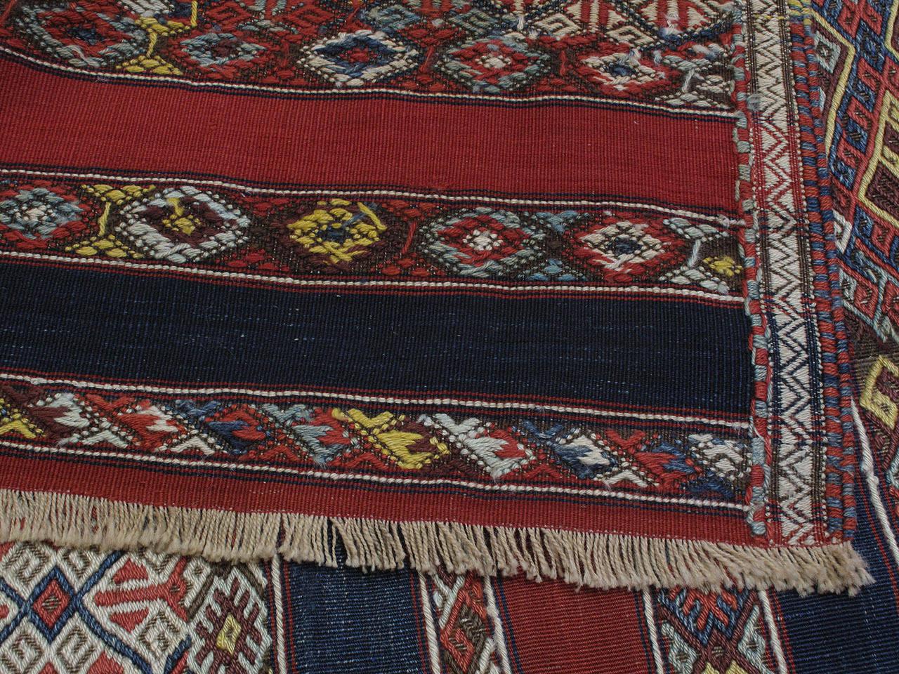Antique Malatya Kilim Rug For Sale 2