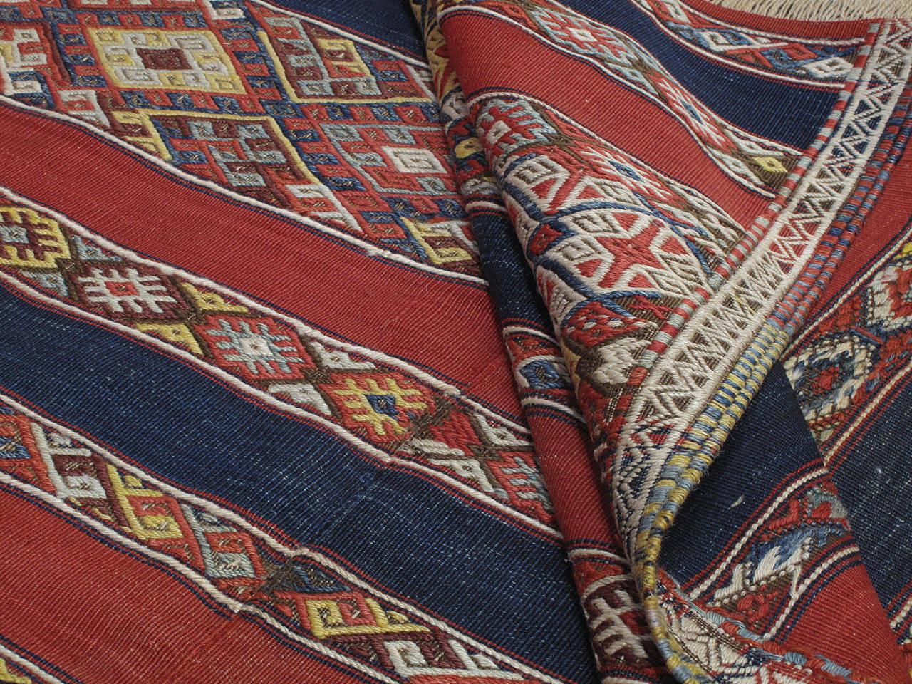 Antique Malatya Kilim Rug For Sale 3
