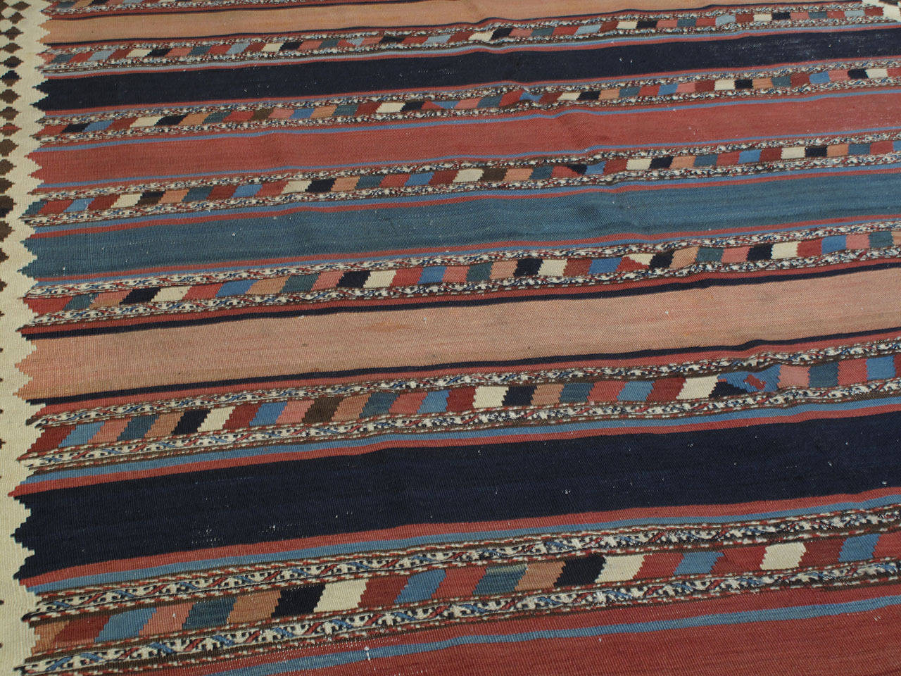 Azerbaijani Antique Shahsavan Kilim Rug For Sale