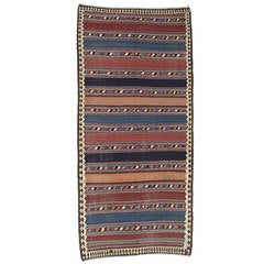 Antique Shahsavan Kilim Rug