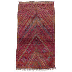 Beni Mguild Moroccan Berber Carpet