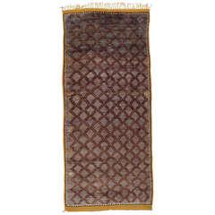 Elegant Berber Carpet
