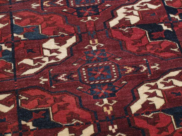 Superb Antique Turkmen Carpet For Sale At 1stdibs