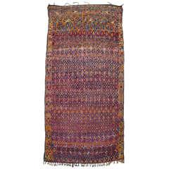 Large Beni Mguild Moroccan Berber Carpet