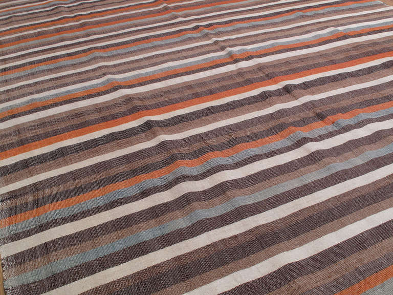 Kilim Striped Cover For Sale