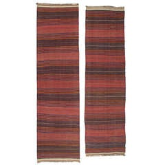 Pair of Baluch Kilim Runners