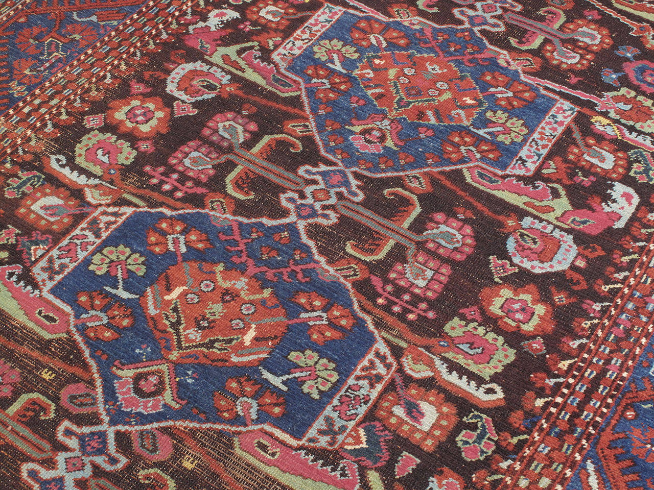 Oushak Antique Kula Long Rug For Sale