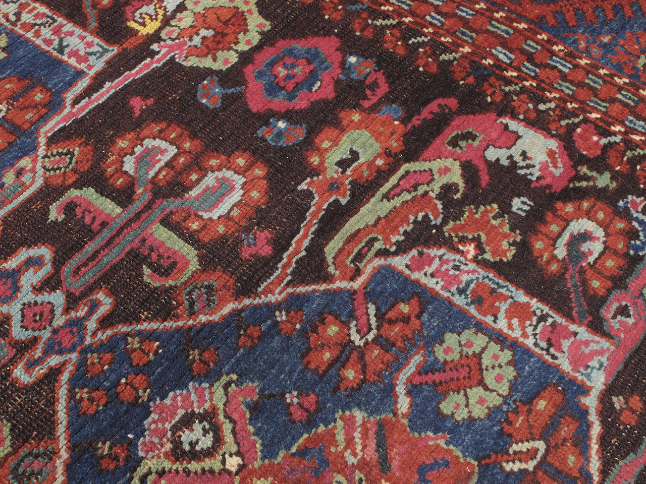 Antique Kula Long Rug In Fair Condition For Sale In New York, NY