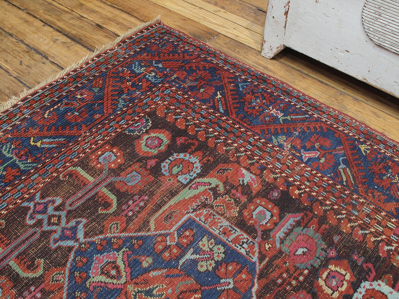 19th Century Antique Kula Long Rug For Sale