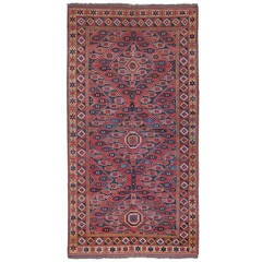Antique Beshir Turkmen Rug