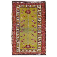 Small Yuntdag Rug with Tree-of-Life