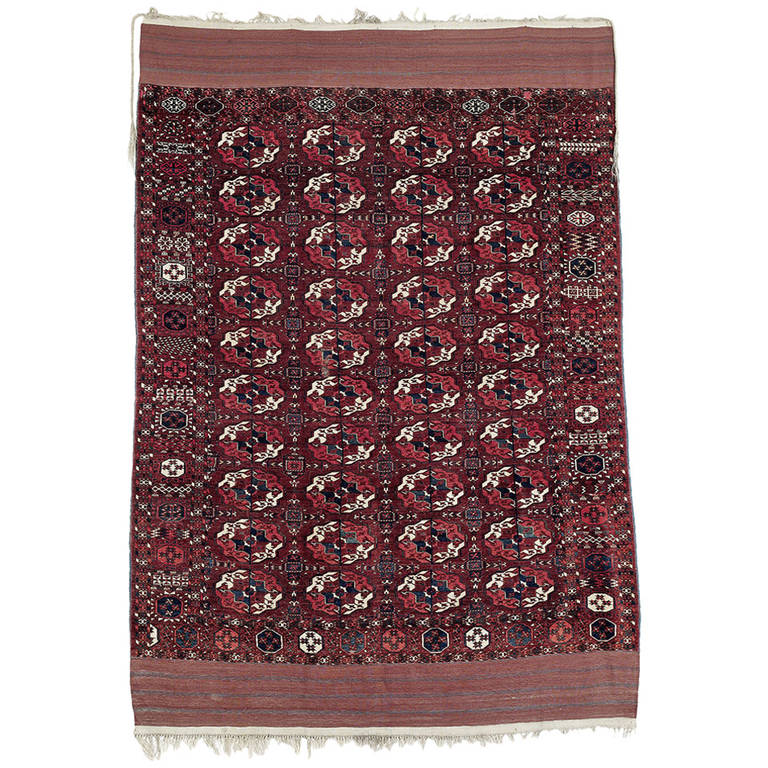 Superb Antique Turkmen Carpet
