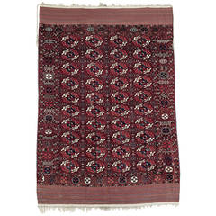 Superb Antique Turkmen Carpet