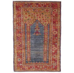 Antique Angora Oushak Rug