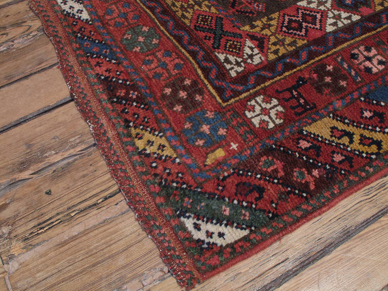 Antique Kurdish Long Rug For Sale At 1stdibs