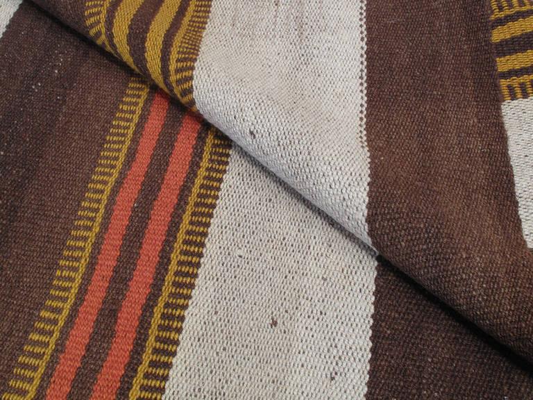 Wool Urfa Kilim Rug For Sale