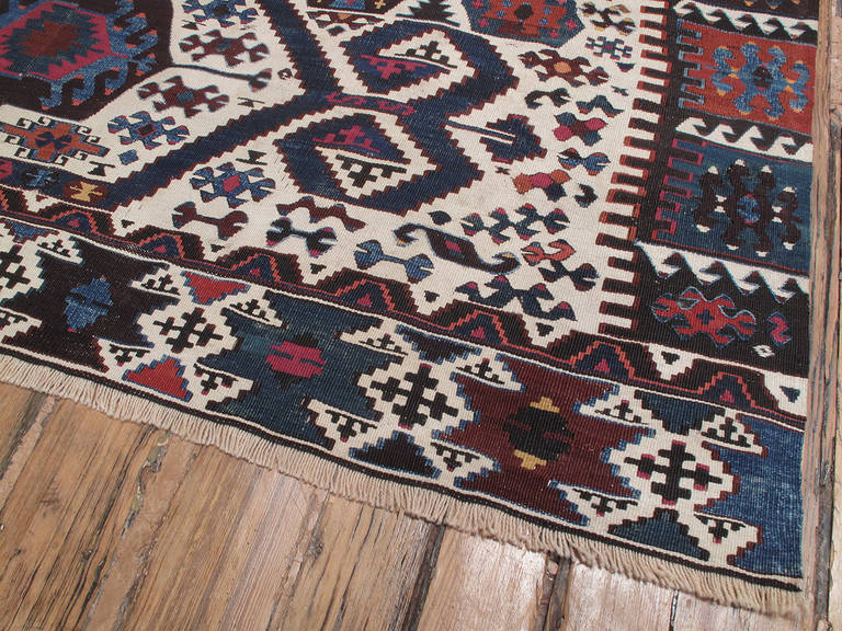 Antique Aydin Kilim For Sale 1