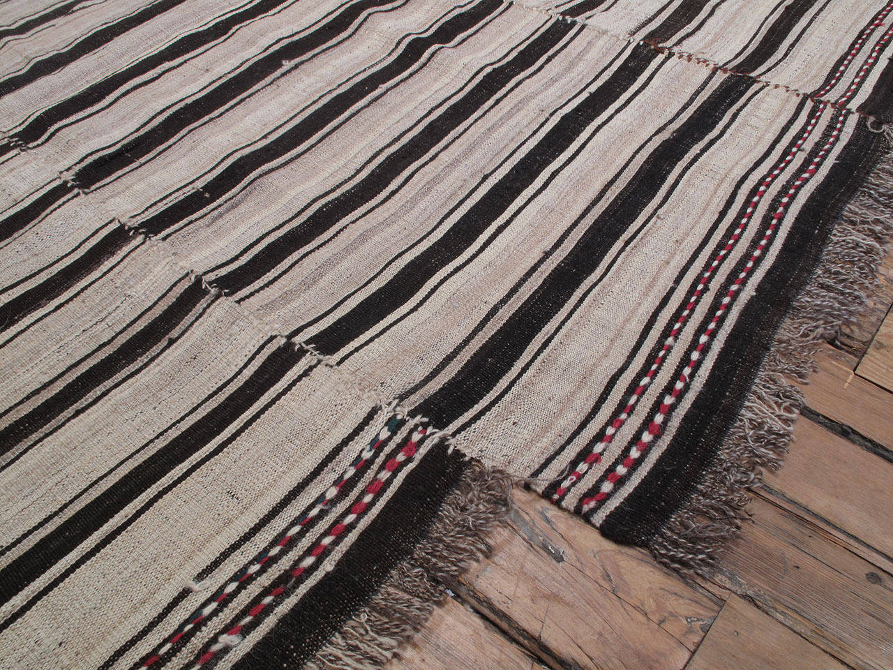 Banded kilim at 1stdibs for 14 wall street 20th floor new york new york 10005