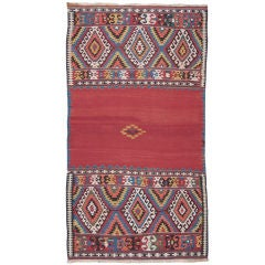 Antique Fethiye Kilim Rug