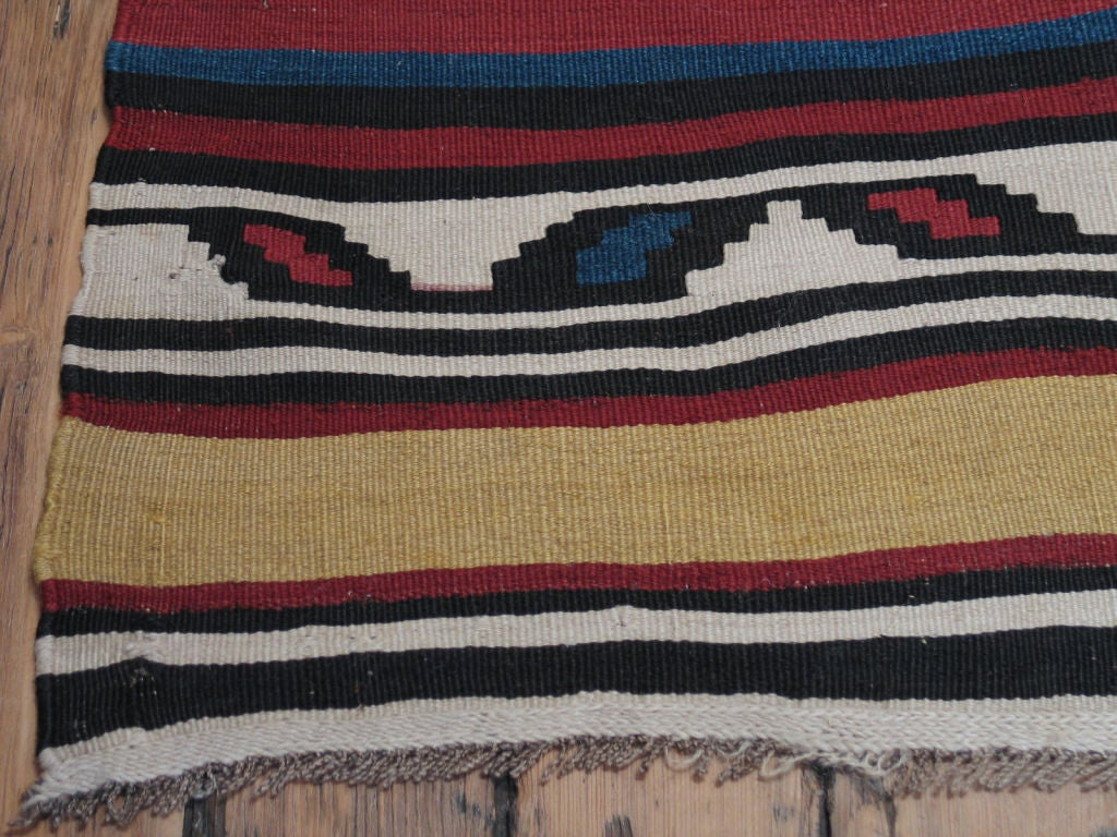 Azerbaijani Antique Shahsavan Kilim Rug For Sale