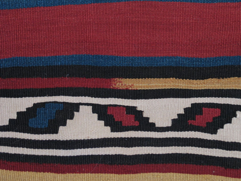 Antique Shahsavan Kilim Rug In Excellent Condition For Sale In New York, NY