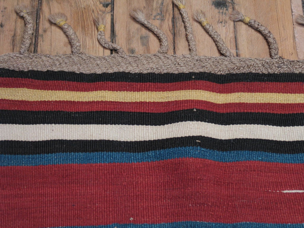 Antique Shahsavan Kilim Rug For Sale 1