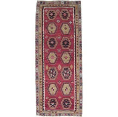 Sharkisla Kilim Wide Runner Rug