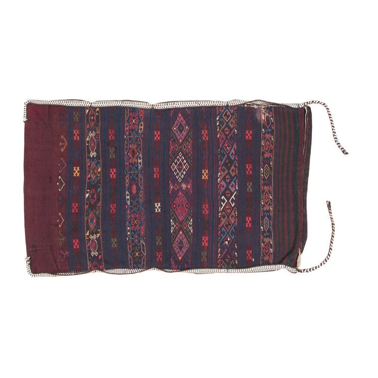 "Tribal ""Grain"" Sack Rug"