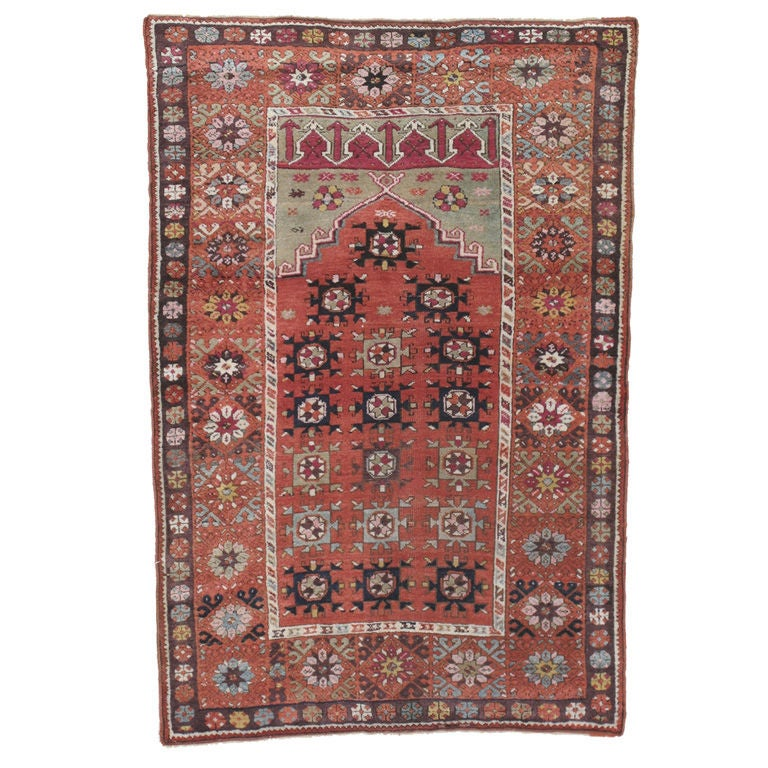 Prayer Rug Types: Antique Prayer Rug For Sale At 1stdibs