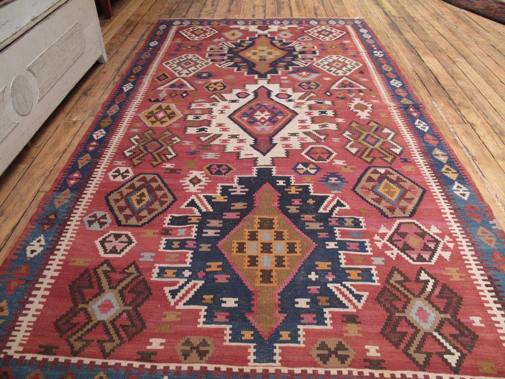 Azerbaijani Kuba Kilim Rug For Sale