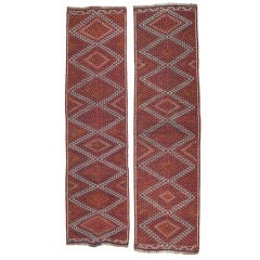 Pair of Khoy Kilim Runners