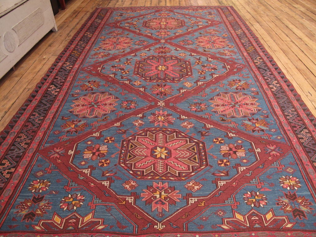 Azerbaijani Sumak Carpet For Sale